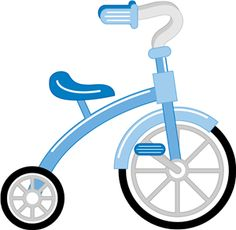 Travel icons bike vespa. Bicycle clipart baby