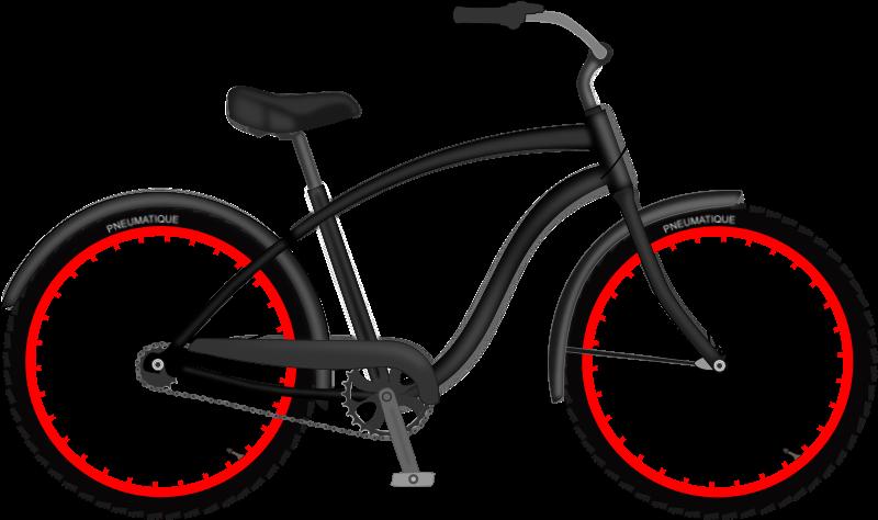 Medium image png . Clipart bike beach cruiser