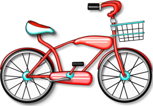 Ride your bike to. Cycle clipart cute