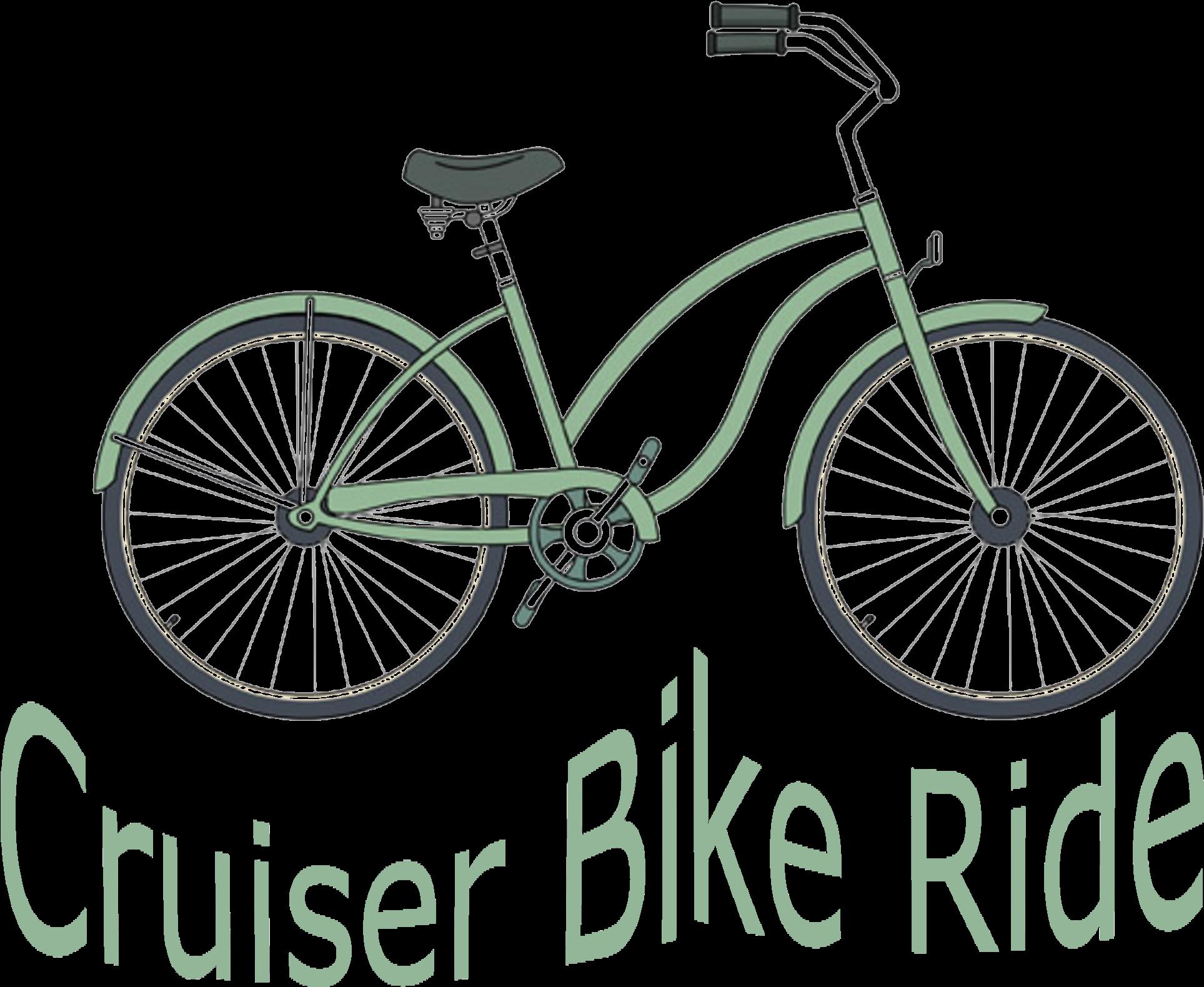 Clipart bike beach cruiser. Trending clip art library