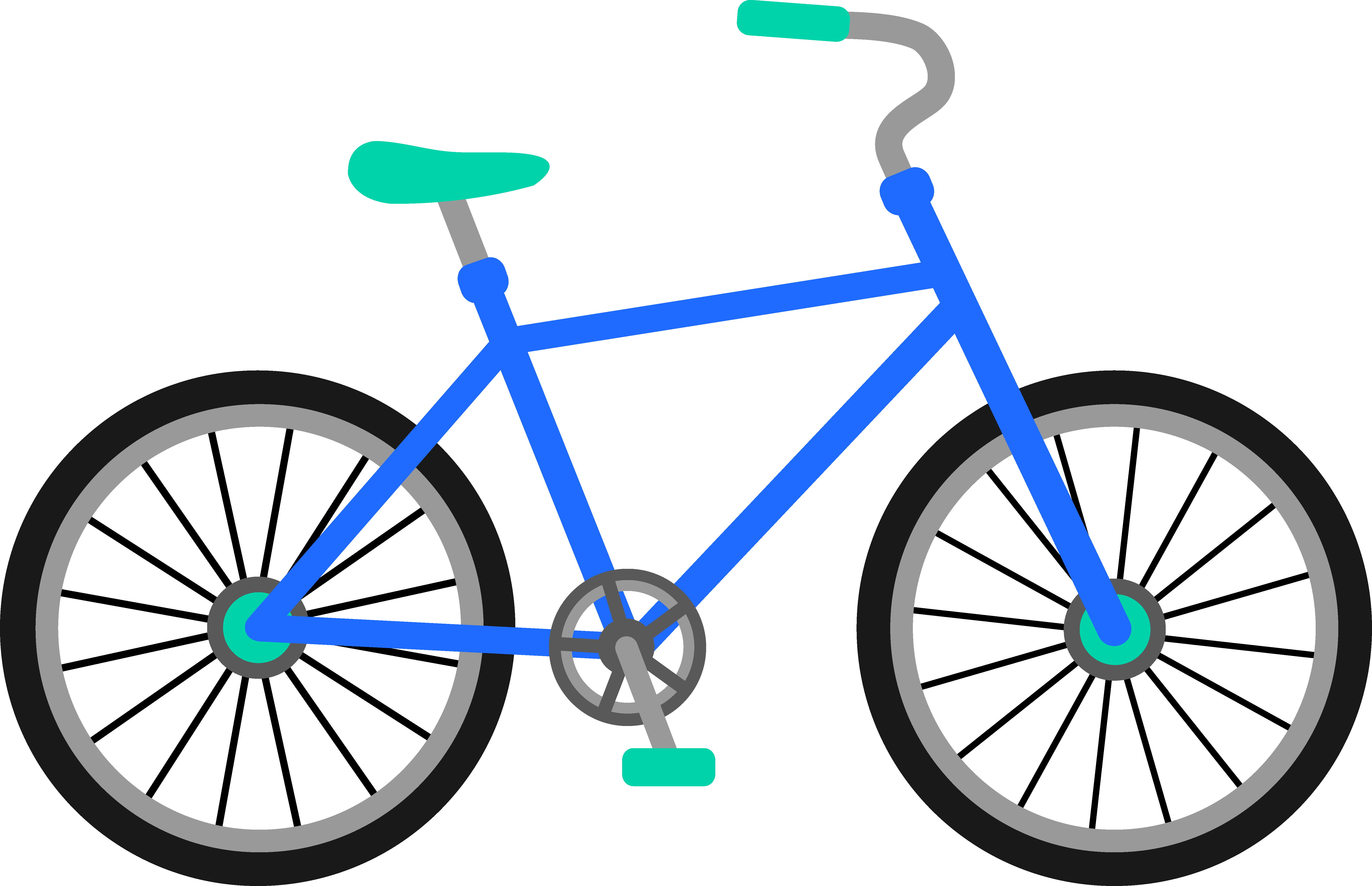 Biking clipart bycycle. Clip art transportation bicycle