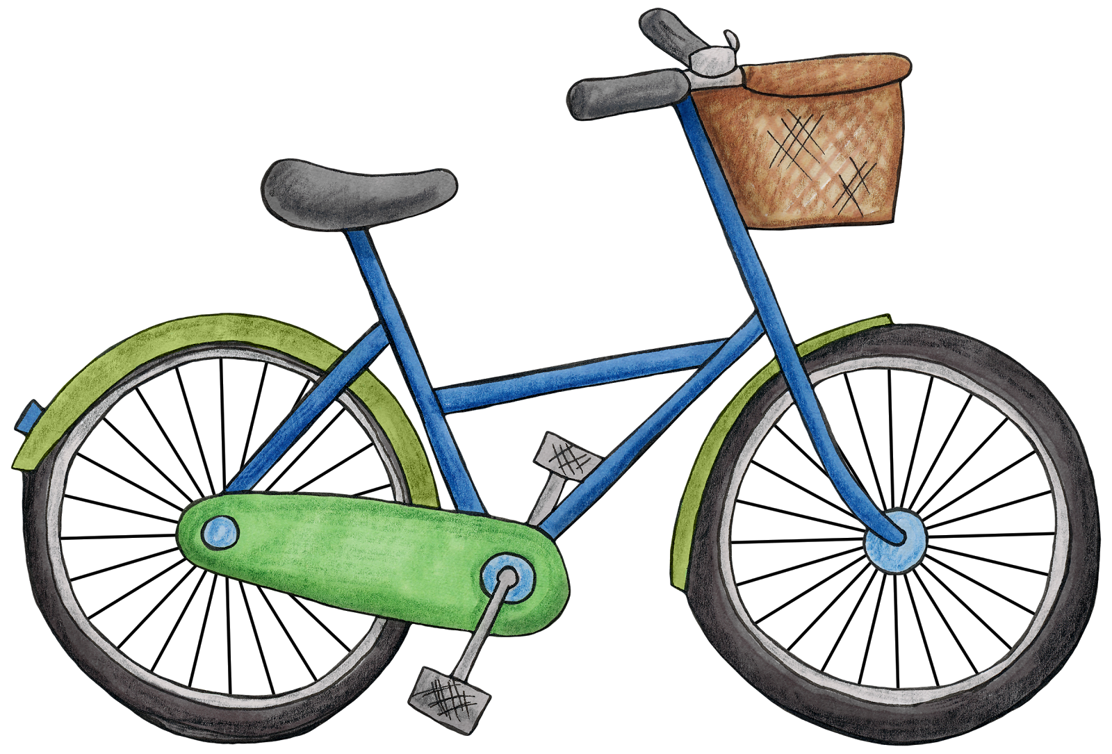 Bike clipart. Bicycle png images free