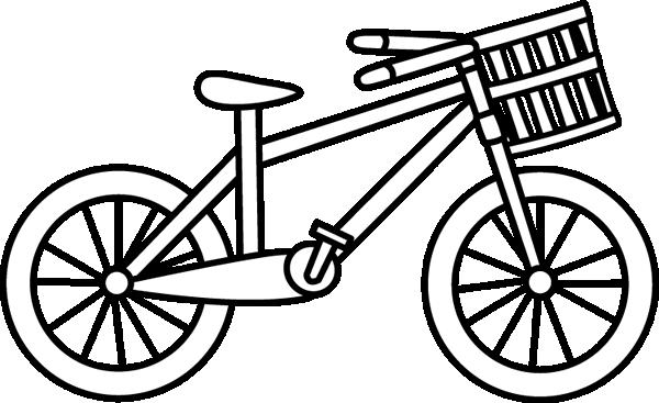 Bike black and white