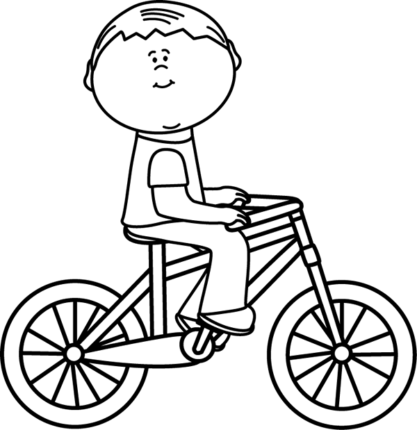 Bicycle clip art images. Cycle clipart cute