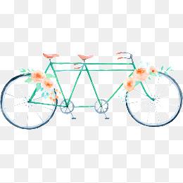 Bike clipart border. Rose png vectors psd