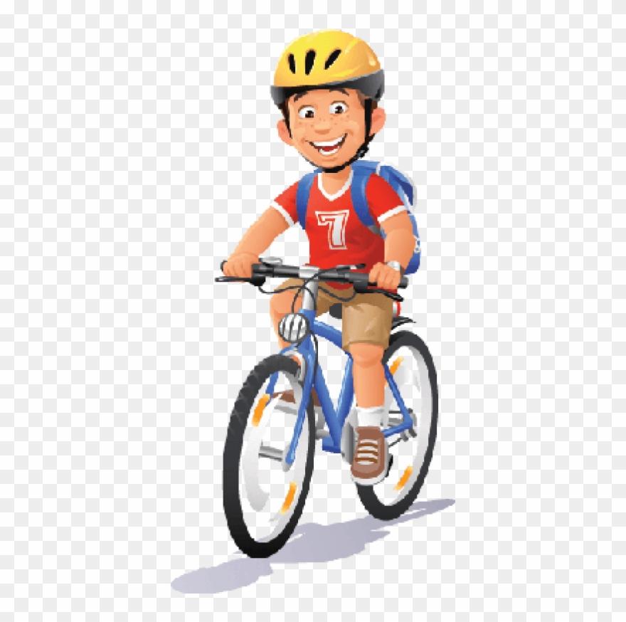 Bikes and bicycles ridi. Clipart bike boy