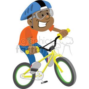 Clip art people children. Clipart bike boy