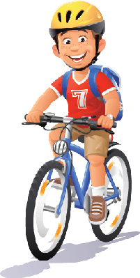 Bike clipart cycling. Bikes and bicycles boy