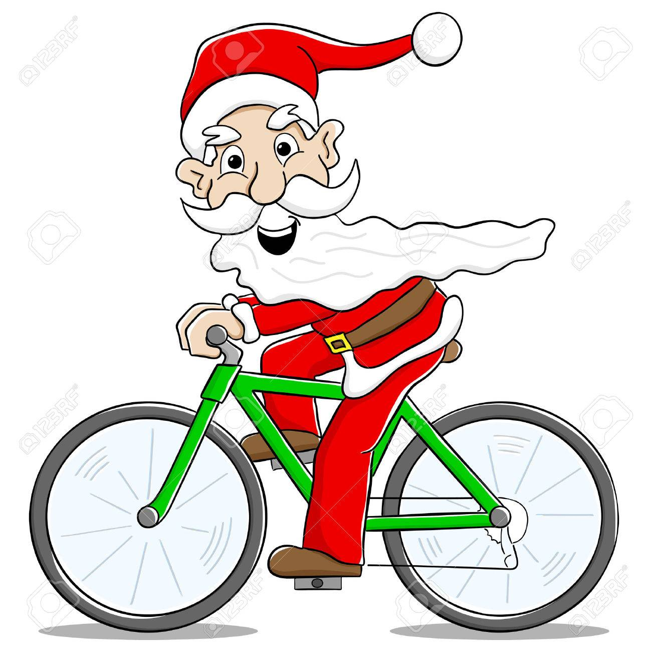 Bicycle clipart christmas. Cliparts free download clip