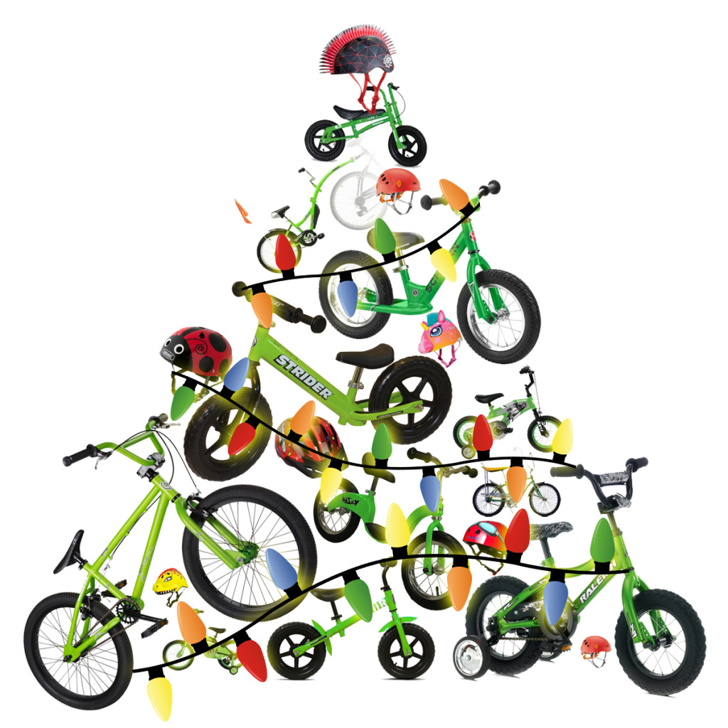 Best ever. Biking clipart christmas