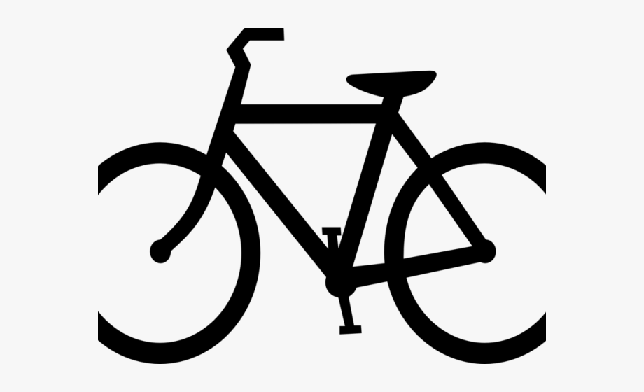 Transparent symbol free . Bicycle clipart cycling