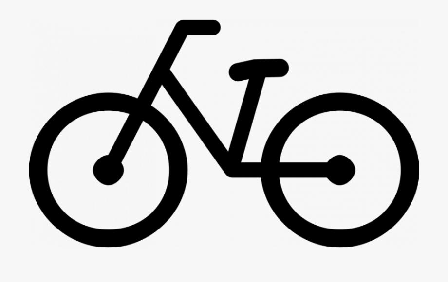 Biking clipart easy. Bike bicycle pictogram free