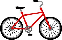 Bicycle clipart easy. How to draw a