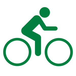 Clipart bicycle green bike. Clip art at clker