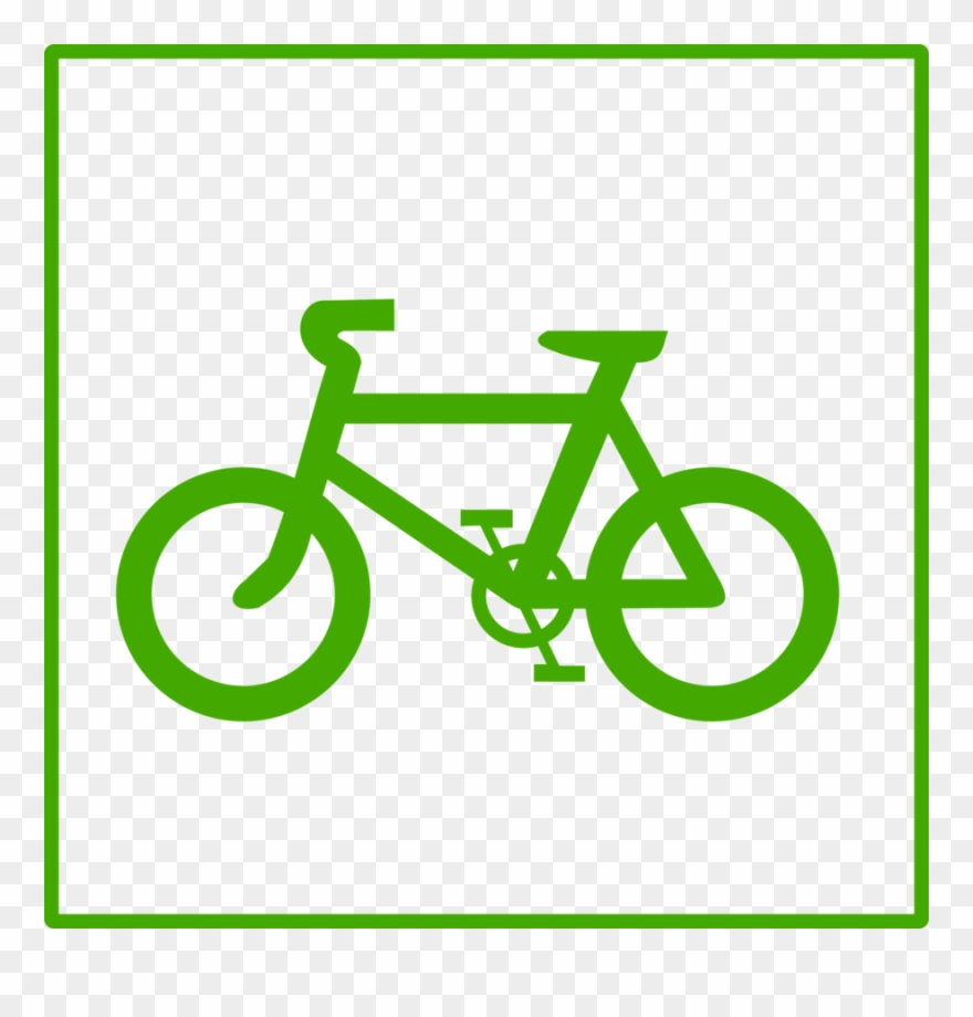 Icon computer icons clip. Clipart bicycle green bike