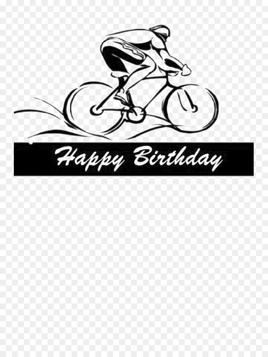 Biking clipart birthday. Happiness cycling bicycle