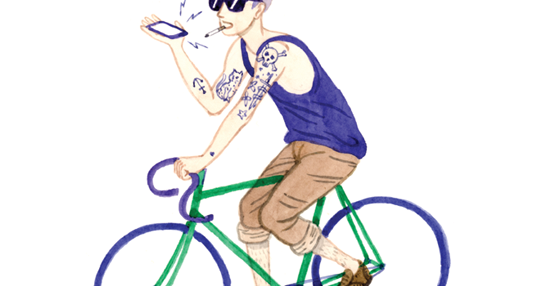 Mid life cycling kurt. Bicycle clipart hipster
