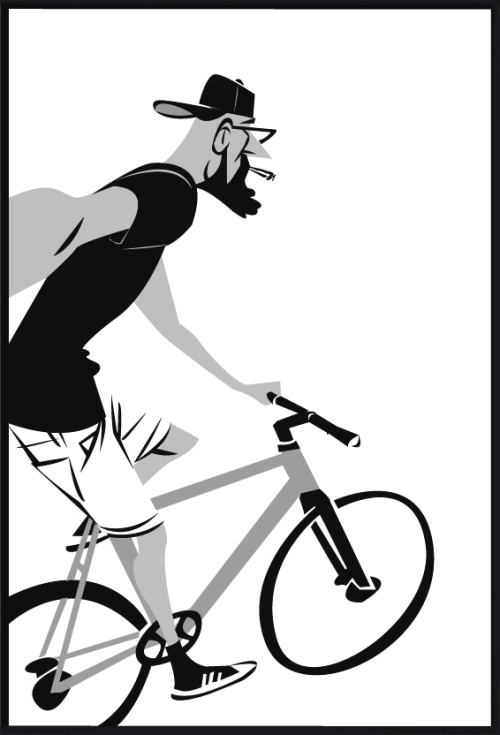 Biking clipart hipster. Fixie tumblr hipsterselfie with