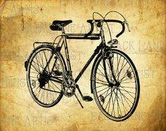 Bicycle clipart illustrated. Pin by digibonbons on