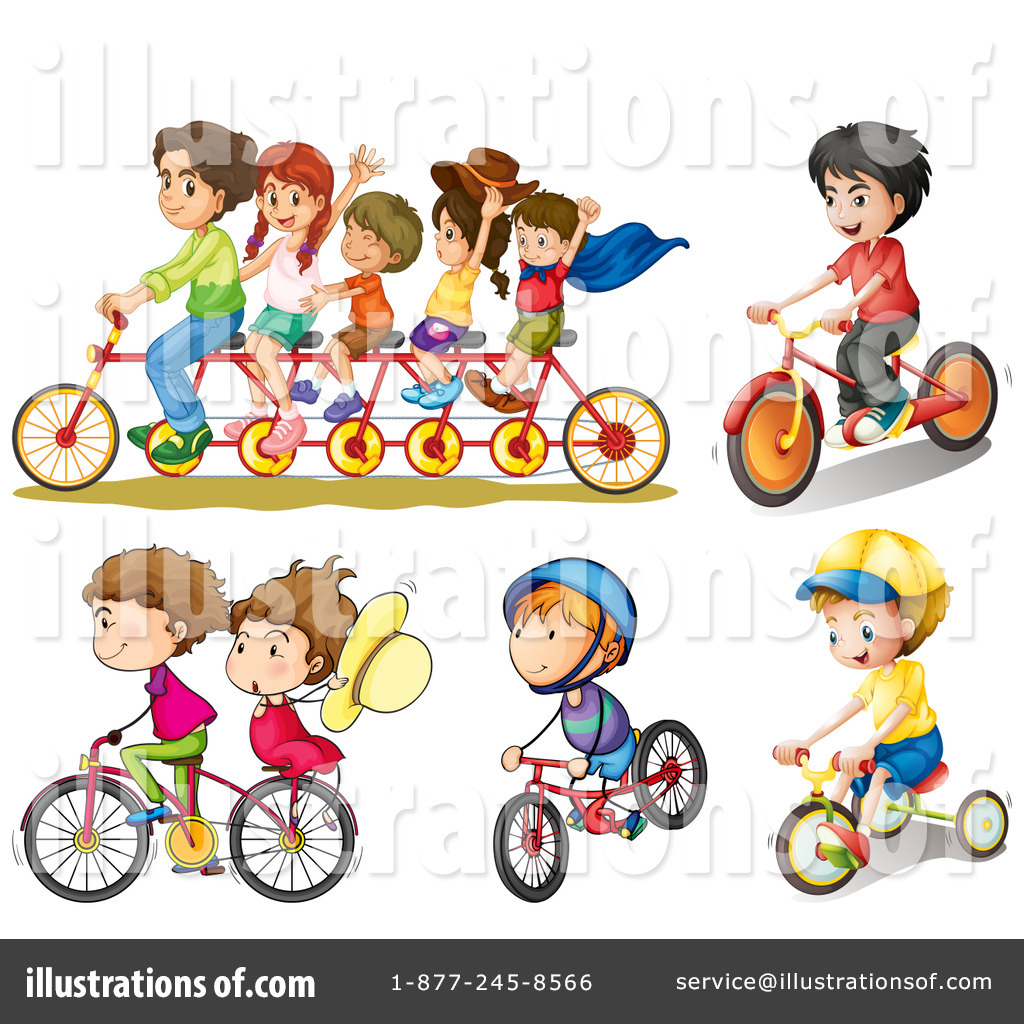 Bike illustration by graphics. Bicycle clipart illustrated