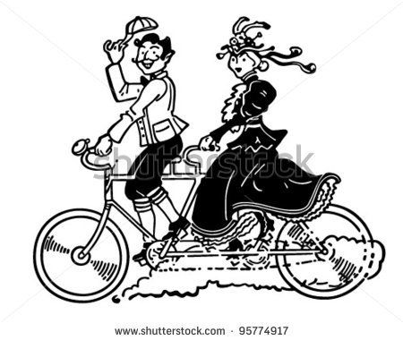 Clipart bicycle two wheeler. Built for images vintage