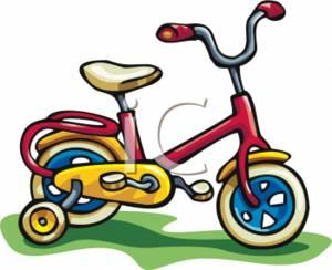 Toddler . Bicycle clipart kid bike
