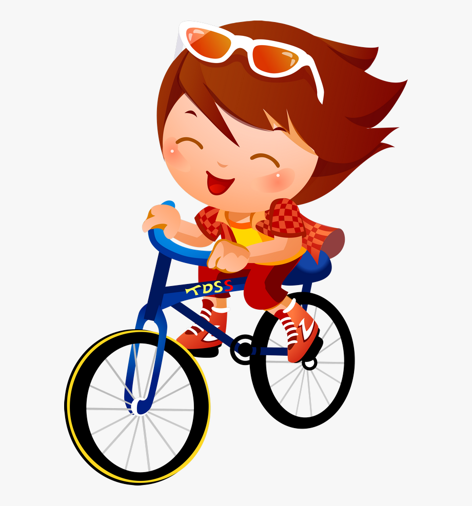 Baby kids biking clip. Bicycle clipart kid bike