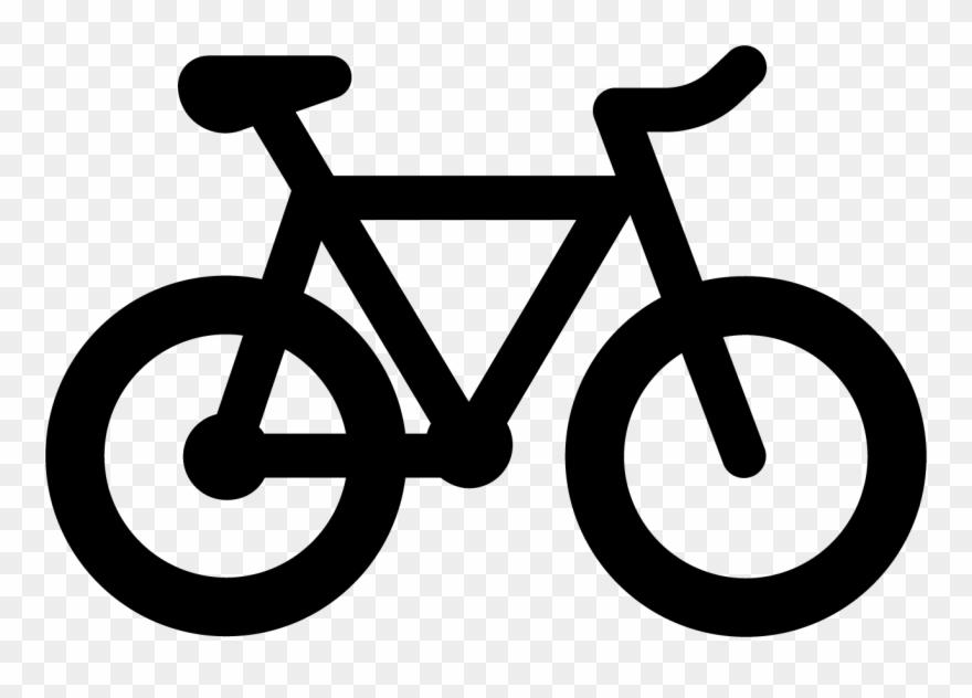 Biking clipart logo. Ride your bike lavado