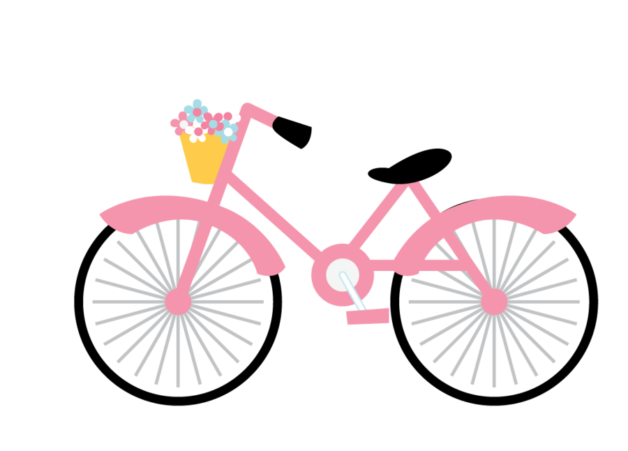 Wheel clipart pink. We love paris zwd