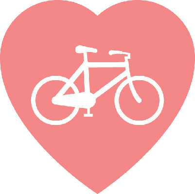Bikes and bicycles pbs. Bicycle clipart love