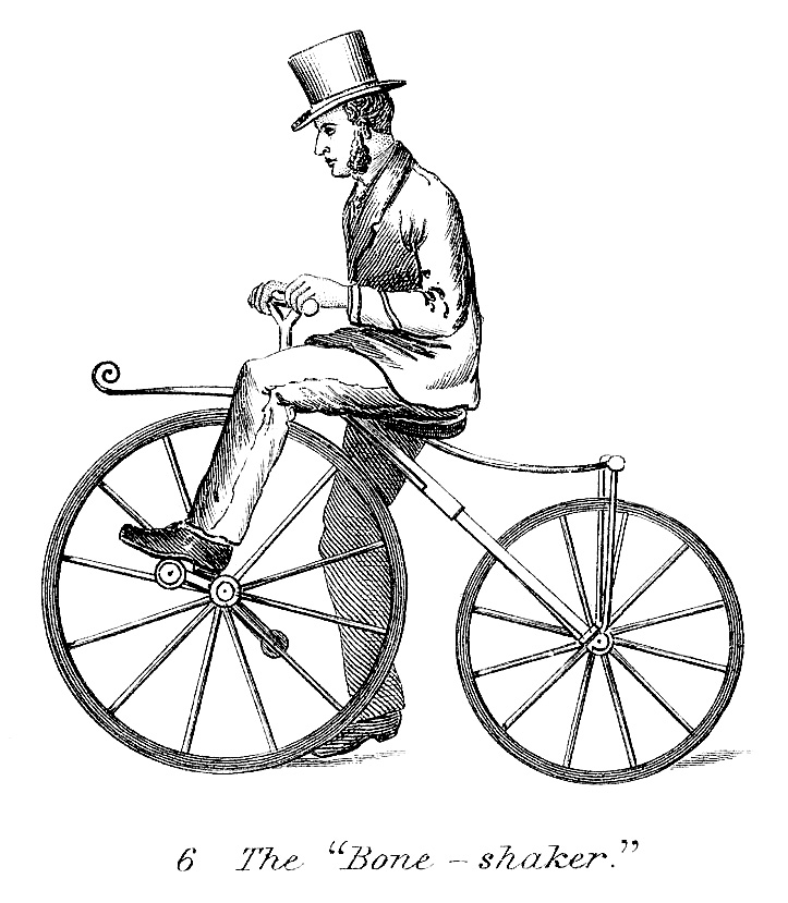Clipart bicycle old fashioned. Vintage clip art man