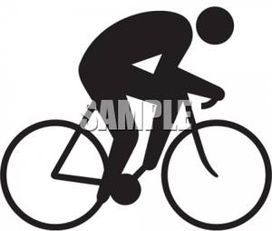 Riding bike download. Cycle clipart person