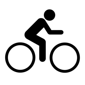 Cycle clipart person. Bike clip art at