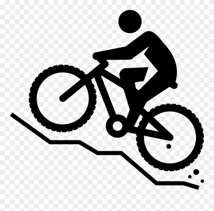 Biking clipart mountain bike. Free png download images