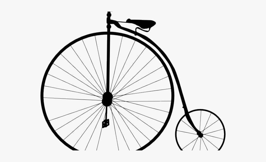 Cycling transparent . Clipart bicycle old fashioned