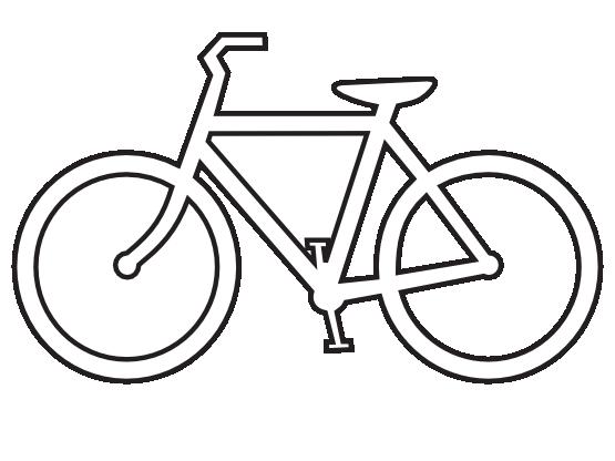 Clipartist net clip art. Bicycle clipart outline
