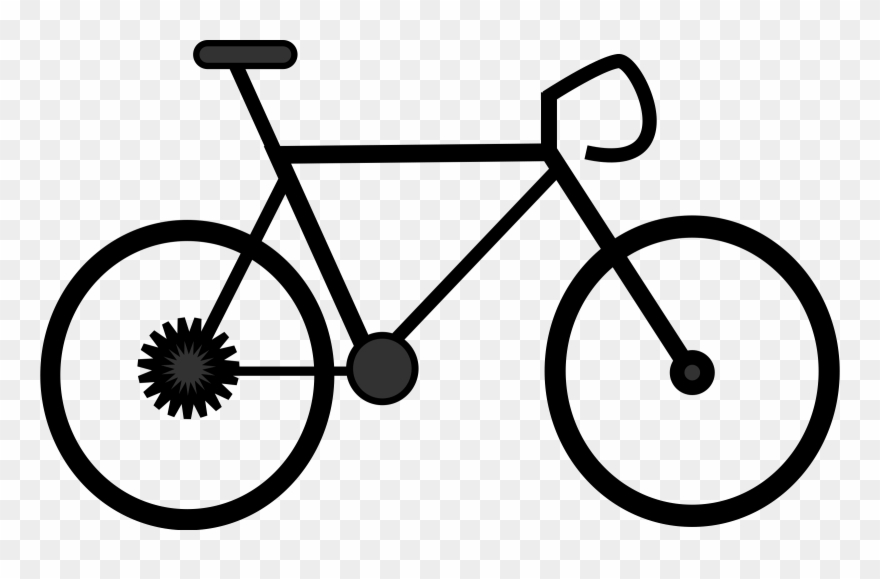 Biking clipart outline. Bicycle happy fathers day