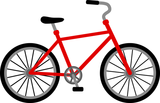 Bike clipart bicicle. Free clip art of