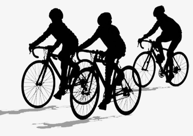 Silhouette for kids children. Bike clipart kid bike