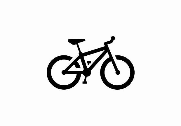 Biking clipart silhouette. Mountain bike