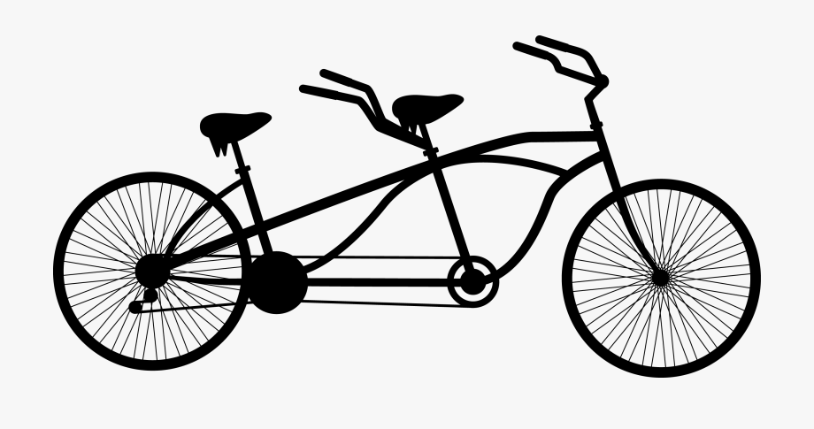 Cycled bike magazine launch. Bicycle clipart simple