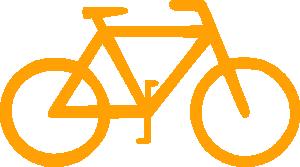 Lunanaut sign symbol clip. Bicycle clipart simple