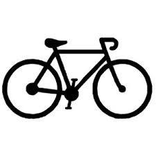 Bike clipart simple. Freezer stencil ber chic