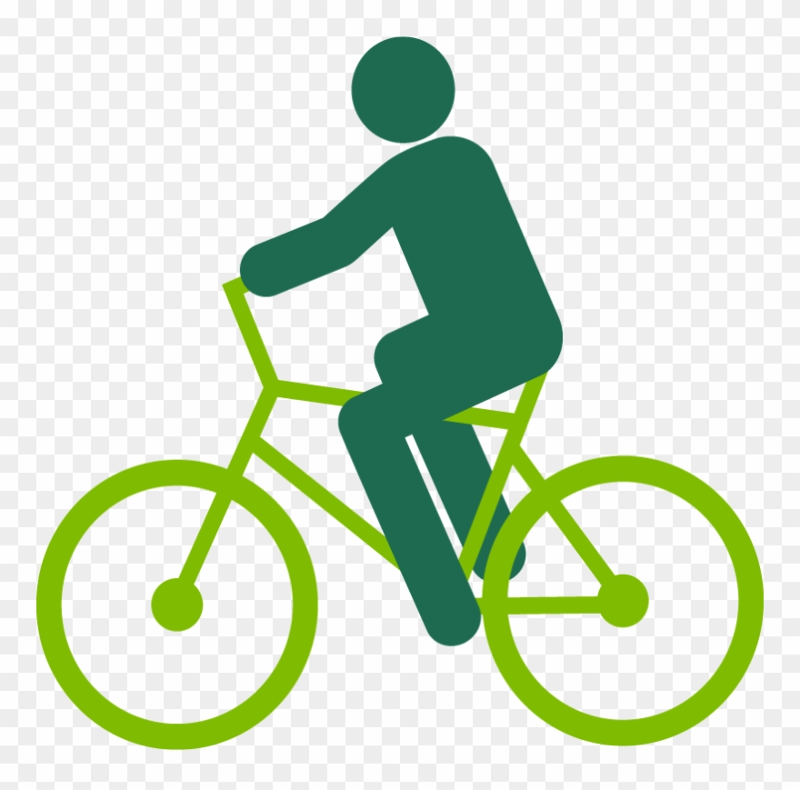 Graphic of a riding. Cycle clipart person