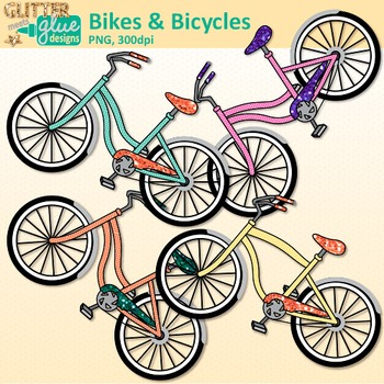 Bicycle clipart summer. And bike clip art