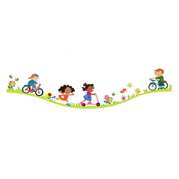 best bicycle images. Biking clipart summer