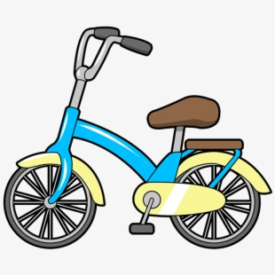 Bike free to use. Bicycle clipart toy