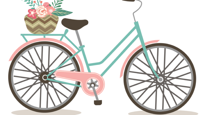 Bicycle clipart transparent background. Bike black and white