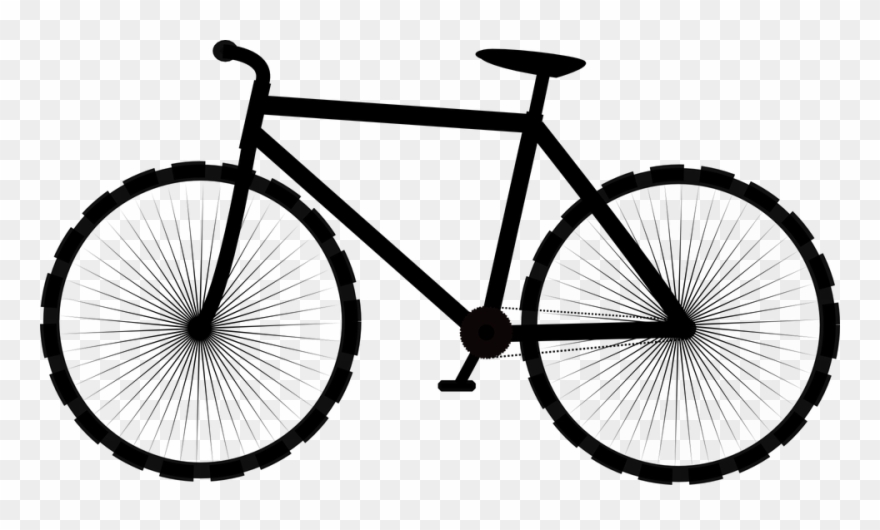Cycle bike sport ride. Bicycle clipart transparent background
