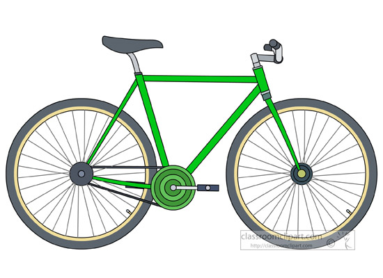 Bike clipart road bike. Bicycle fix gear classroom